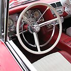 1960 Ford Thunderbird Interior by Sherry Graddy