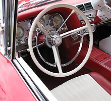 1960 Ford Thunderbird Interior by Sherry Hunt