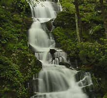 Buttermilk Falls - Stokes State Forest by Stephen Vecchiotti