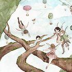 A boy and a  Fairytale by narae