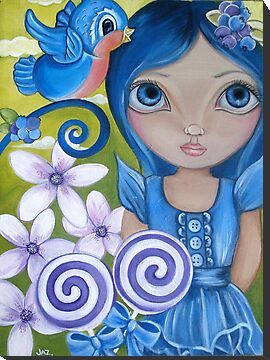 Blueberry Card by Jaz Higgins