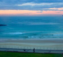 Sunrise at Bondi - Bondi Beach, Sydney, Australia by Mark Richards