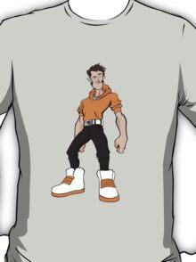 Big Shoes (Orange) T-Shirt