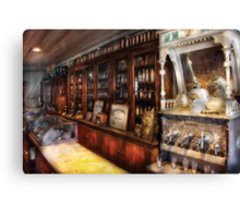 The Local Soda Fountain Canvas Print
