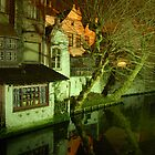 Brugge after dinner by iandsmith