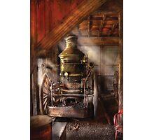 Steam Powered Water Pump Photographic Print