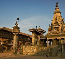 Bhaktapur Square, Nepal. by Darren Newbery