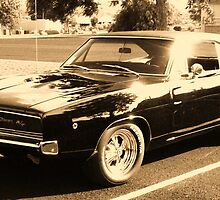 1968 Dodge Charger. by Finbarr Reilly