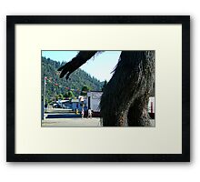 Bigfoot's Revenge Framed Print