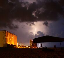 Panama City Lightening by Linda Mathews