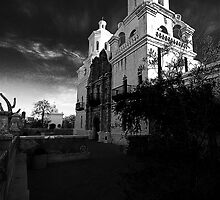 San Xavier del Bac #2 by Marvin Collins