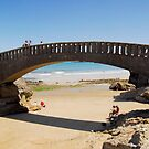Bridge near Port-Vieux of Biarritz by triciamary