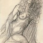 Pencil Nude by Gary  Crandall