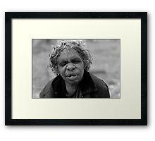 Sad Mary Framed Print