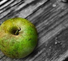 Green apple by Sheri Nye