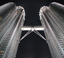 Petronas Twin TowersII by Farah McLennan