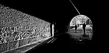 Tunnel light by TaniaLosada
