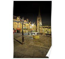 Durham City Market Place Poster