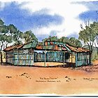 The Bush Two Up Shed,Kalgoorlie.West Australia by robynart