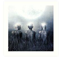 Ghost of Jatun Art Print