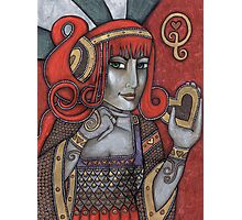 Queen of Hearts (Off With Their Heads!) Photographic Print