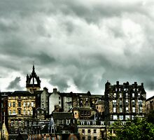 Edinburgh skyline #2 by Agnes McGuinness