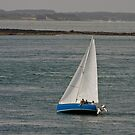 Heeling Sailboat by Buckwhite