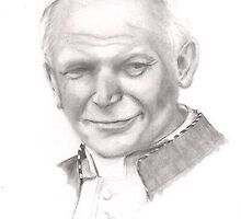 Pope John Paul II by rickycorbett