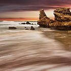&quot;Sunset Point&quot;,Point Roadknight,Anglesea,Australia. by Darryl Fowler