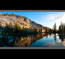 Grant Lakes at Sunset by bdunlap