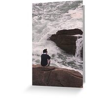 Day Dreaming..... or Deep Contemplation.....? Greeting Card