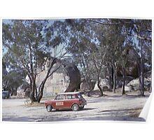 Hills TV Service Mini ~1965 Poster