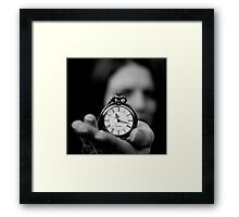 An Offering Of My Time Framed Print