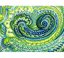 Paisley Watercolor Photographic Print