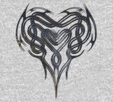 Grungy Celtic Heart by Packrat