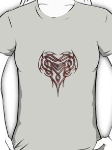 Red Celtic Heart T-Shirt