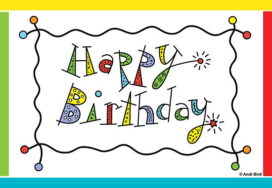 Sparkling Birthday - card by Andi Bird