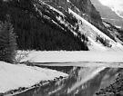 Ice Melt  ~  Lake Louise ~ Alberta ~ Canada by Barbara Burkhardt