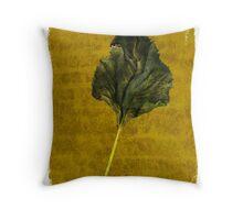Sunflower Leaf Throw Pillow