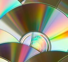 Rainbow CDs by rgstrachan