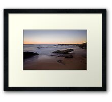Towoon Bay at Sunset Framed Print