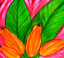 """ Papaya Paradise "" Bright by KETYA"
