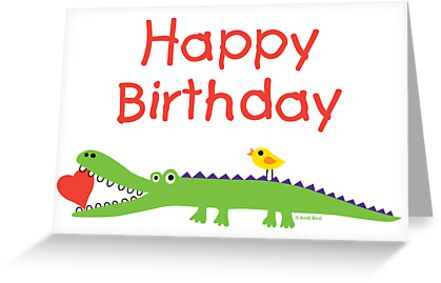 Chompie Birthday ll - card  by Andi Bird