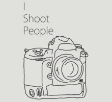 I shoot people (camera)  by Jollence Lee