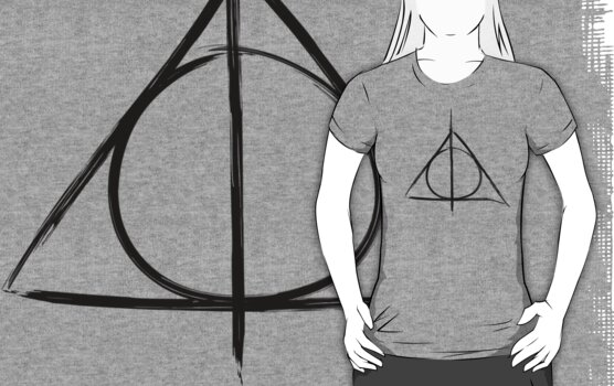 Deathly Hallows symbol by Kate Bloomfield