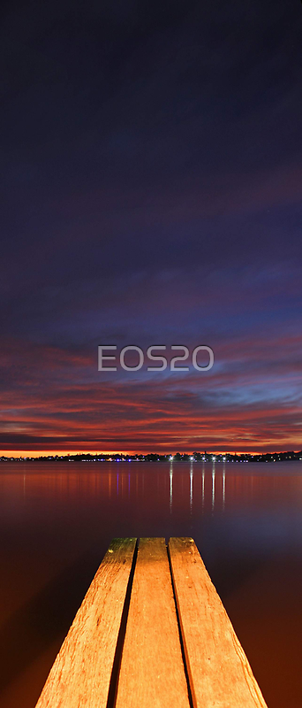 Jetty At Dusk  by EOS20