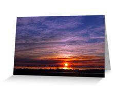 Applecross Sunset  Greeting Card