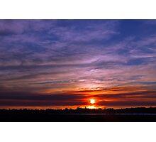 Applecross Sunset  Photographic Print