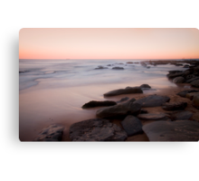 Towoon Bay rockside Canvas Print