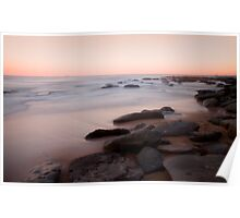 Towoon Bay rockside Poster